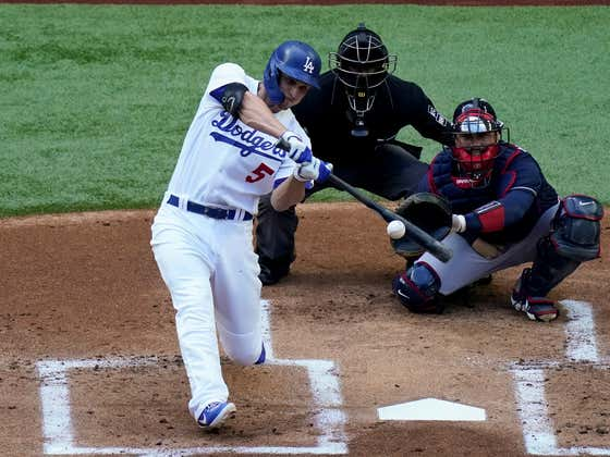Corey Seager Should Be Getting The Barry Bonds Treatment At This Point