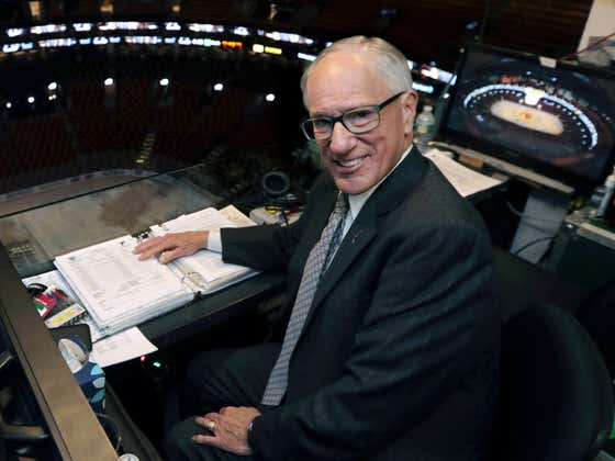 Wake Up With Doc Emrick Calling A Crazy Triple Overtime NCAA Tournament Game (Doc Called NCAA Tournament Games?!?)