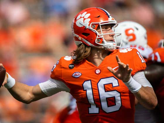 Trevor Lawrence Ruled OUT This Weekend Against BC After Testing Positive For COVID-19