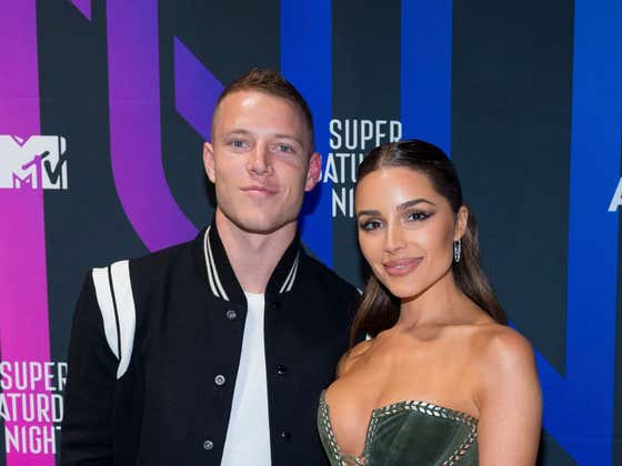 Christian McCaffrey Isn't Expected To Play Tonight, So He'd Be A Buffoon To Not Book The First Flight To Cabo And Meet Olivia Culpo