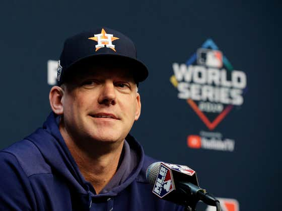 Tigers Waste No Time And Hire That Smug Cheating Asshole AJ Hinch As Their Next Manager