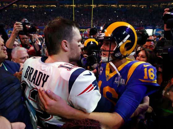 I'm Just Here to Listen to the World Go Ballistic Over Tom Brady's Handshake Snub of Jared Goff
