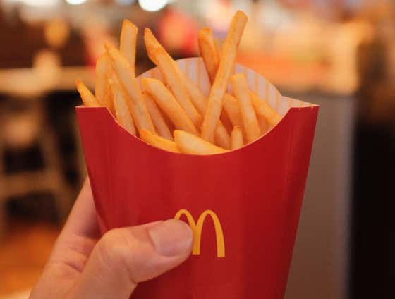 FAST FOOD FRIES, TIERED