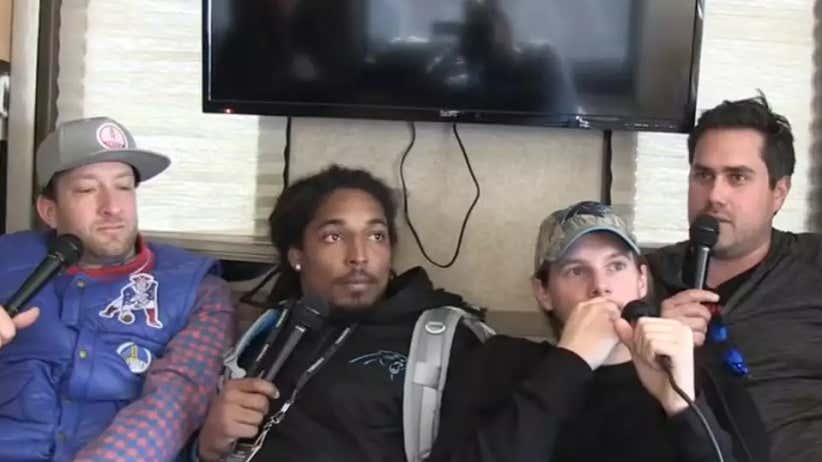 Barstool RV Casting Couch