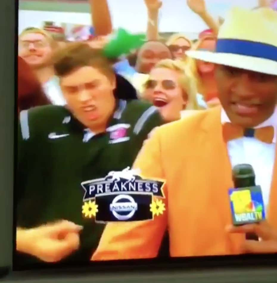 This Girl Brought Preakness Back In A Big Way On Saturday - Barstool Sports-3153