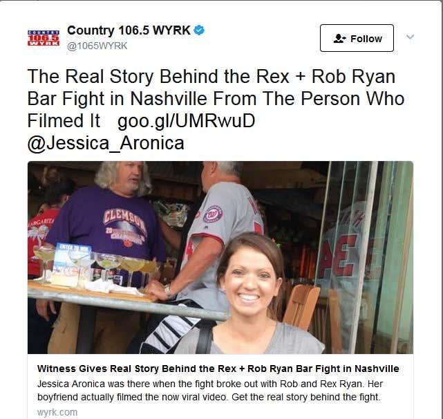Ryan bar fight