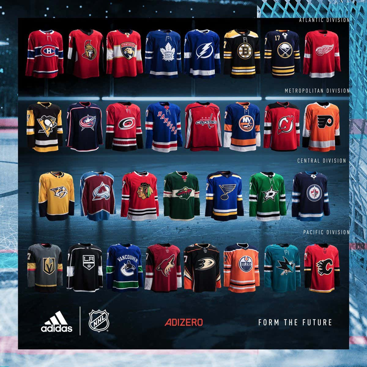 Adidas released all 31 home sweaters for the 2017-18 NHL season last night.  Some of them are good dd022750e1a