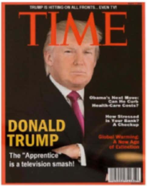 Trump Golf Courses Hang A Completely Fake TIME Magazine Cover Of ... 71af62629