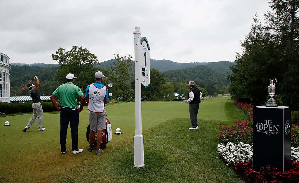 Open Qualifying Series at the Greenbrier Classic