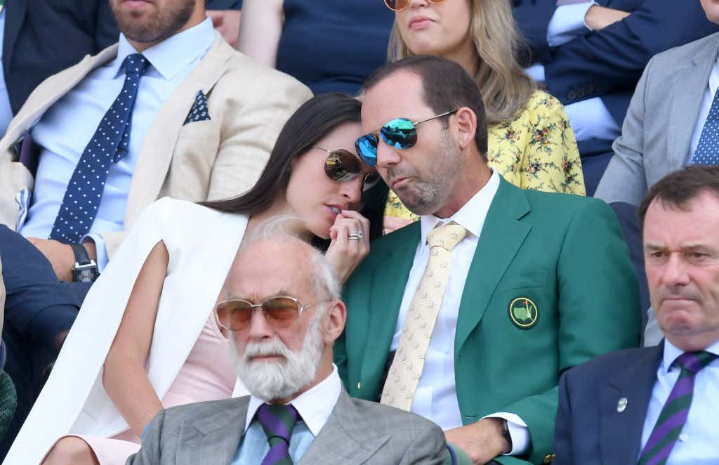 attends day 5 of Wimbledon 2017 on July 7, 2017 in London, England.