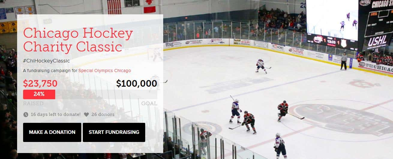 Chicago Charity Hockey classic