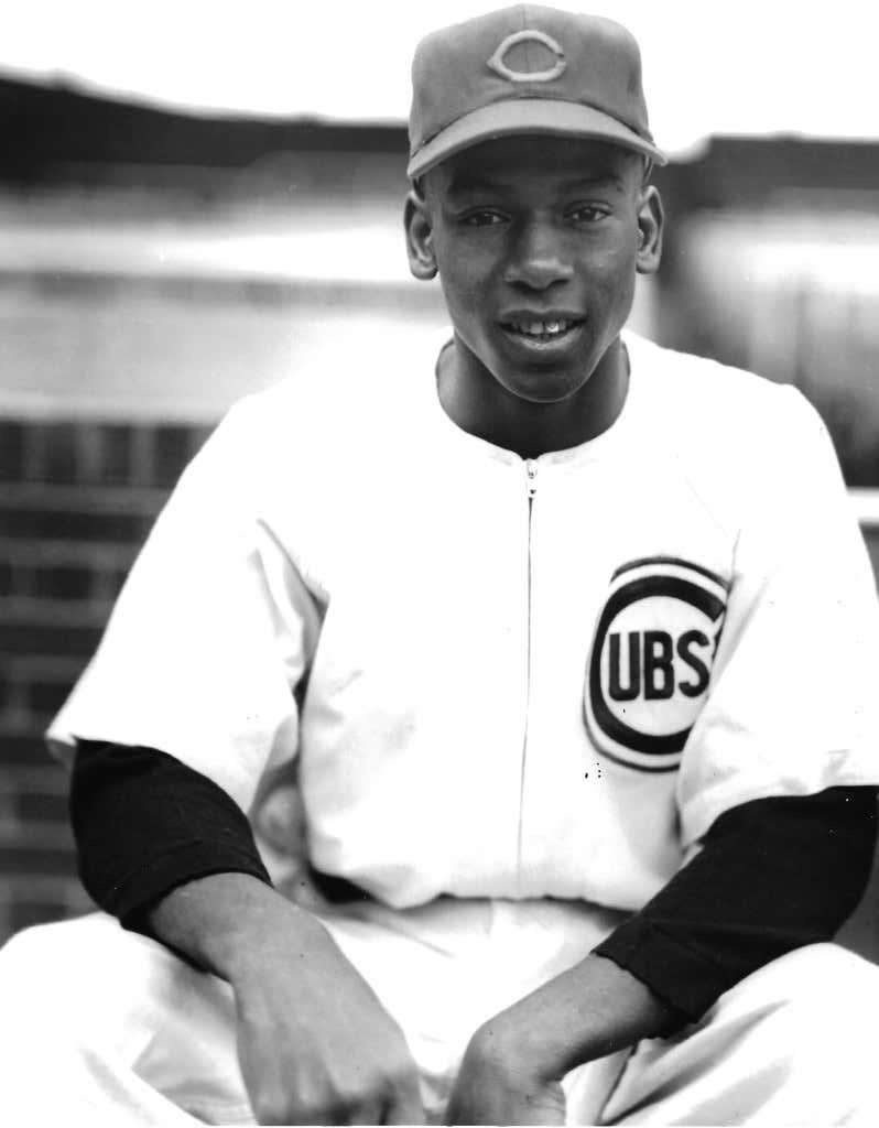 Chicago Cubs Ernie Banks September 17, 1953