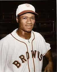 St. Louis Browns Hank Thompson July 17, 1947
