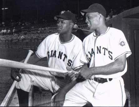 New York Giants Hank Thompson & Monte Irvin July 8, 1949