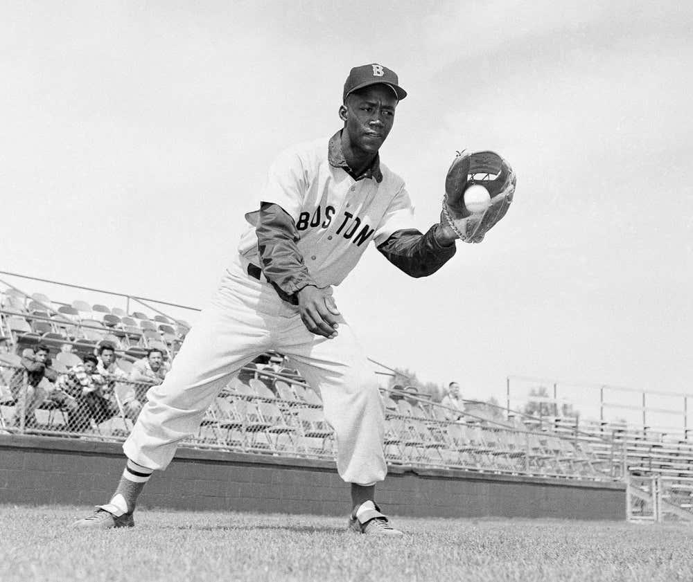 Boston Red SoxPumpsie GreenJuly 21, 1959