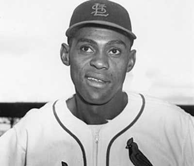 St. Louis Cardinals Tom Alston April 13, 1954