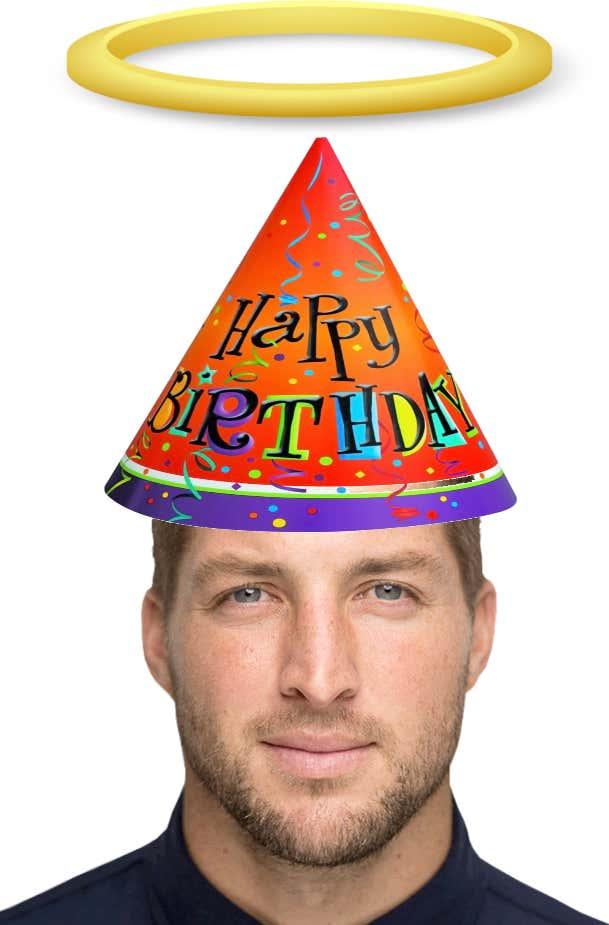 Happy 30th Birthday Tim Tebow