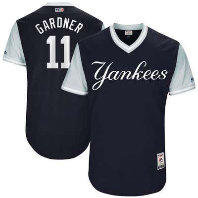 new product b4aa7 a21da Brett Gardner Didn't Want To Wear A Name On The Back Of His ...
