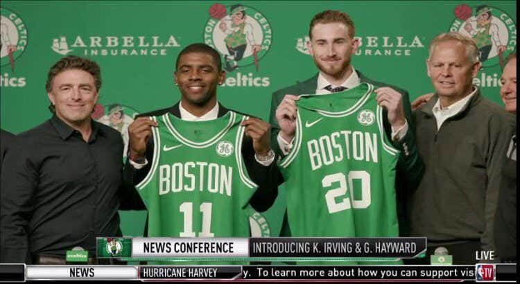 d6965e78493 The Celtics have had some pretty major introductory press conferences in  their recent history. There was obviously the most hyped press conference I  can ...