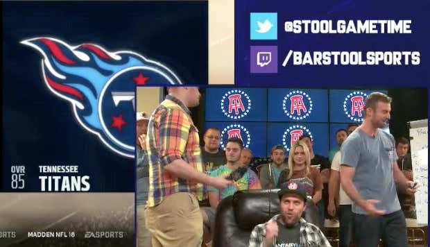 Handicapping The First Ever Barstool NFL Video Game