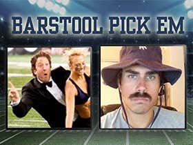Barstool Pick Em College Football Week 1 Is Live