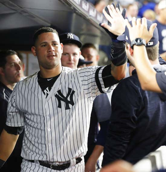 Gary Sanchez Set The Single Season Record For Home Runs By A Yankees