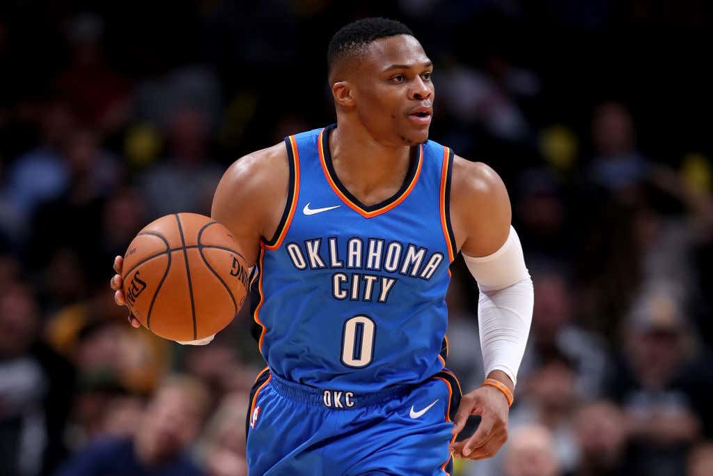 Last Night In The Nba Russell Westbrook Got A Little Angry