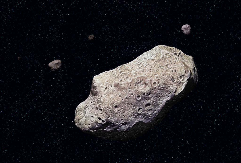 A House Sized Asteroid Will Barely Miss Earth Tonight
