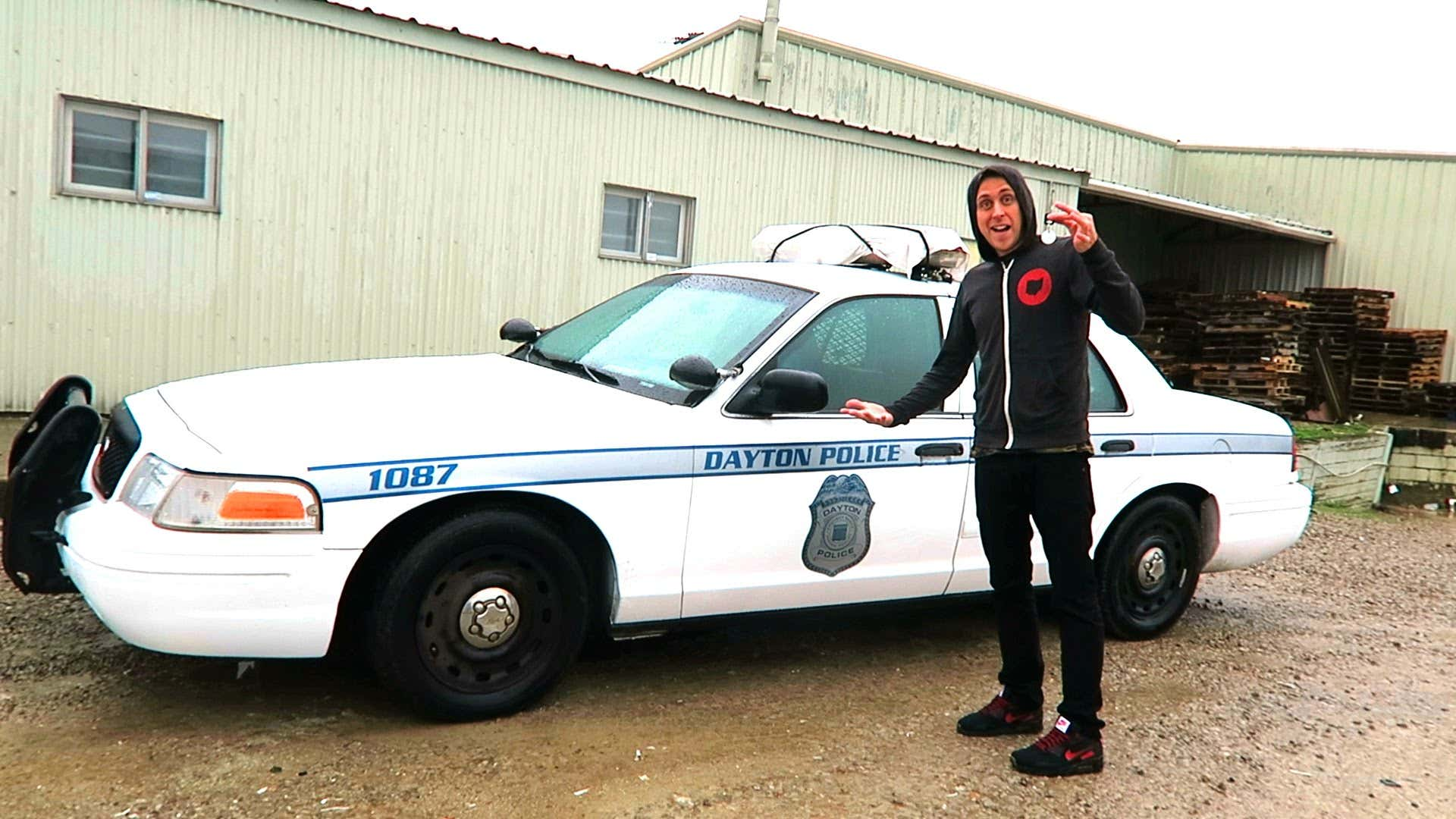 Stealing Your Dad's Cop Car To Pull Over Your Ex-Girlfriend And Her