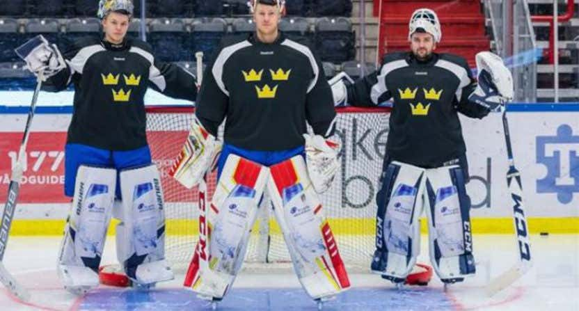 Advertisements In Hockey Are Now Taking Over Goalie Pads And I Won't