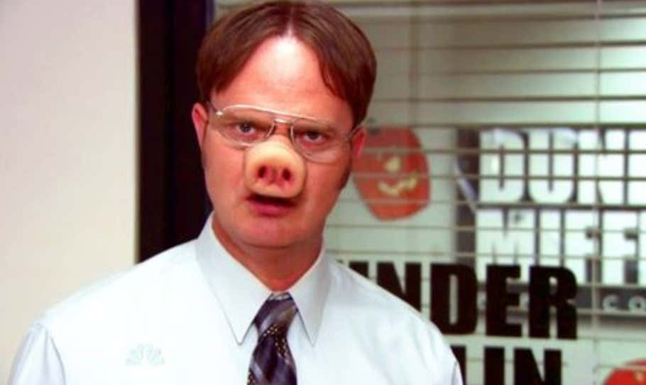 Dwight Schrute Is Now A Vegan After Realizing Bacon Comes