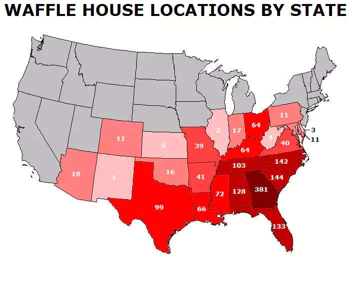 WaffleHouselocationsbystate