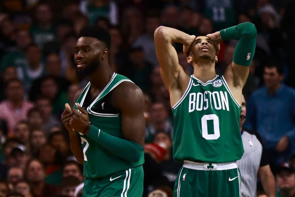 The Celtics Blew A Late Lead, Ruin Christmas For Everybody ...