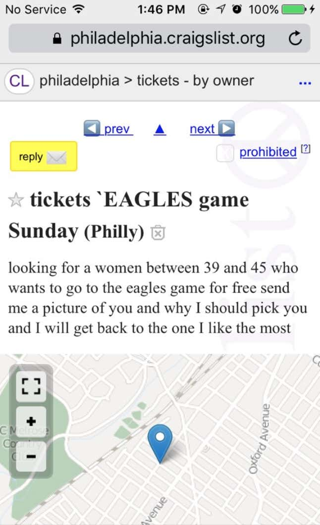 f7043458c34 Fine Gentleman On Craigslist Requests A Lovely Lady To Escort Him To ...