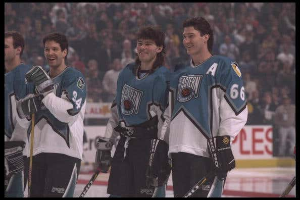 Throwing It Back To The 1996 97 NHL All Star Jerseys - Barstool Sports fc941e9a4f3