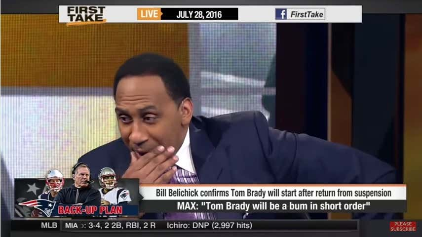 Happy Tom Brady Cliff Day, Max Kellerman! - Barstool Sports