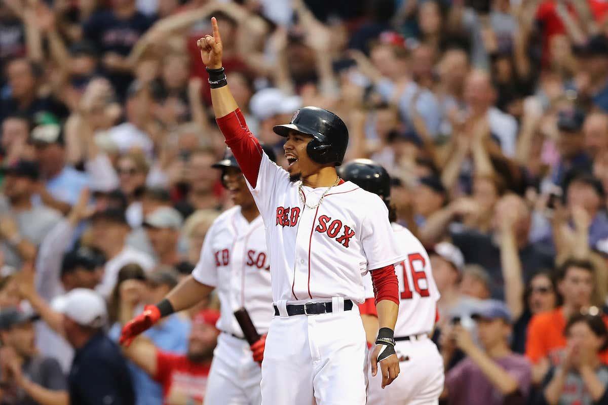 Divisional Round - Houston Astros v Boston Red Sox - Game Three