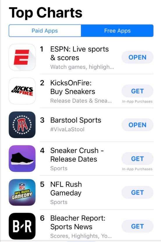 Quick Update - The Barstool App Is Now Bigger Than Bleacher Report