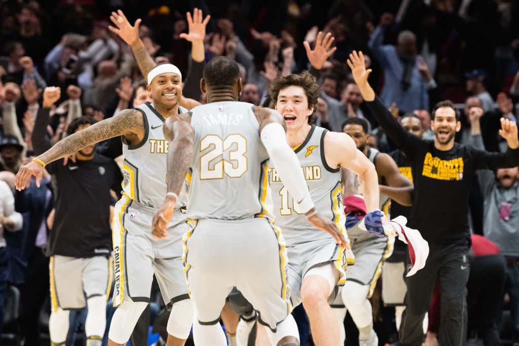 4551309fa Minnesota Timberwolves v Cleveland Cavaliers