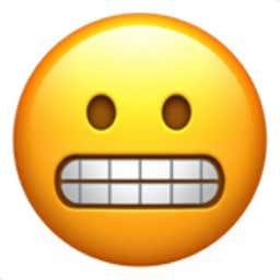 grimacing-face