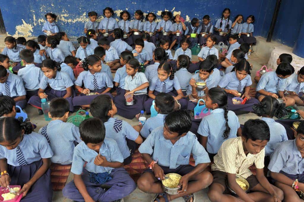 INDIA-POVERTY-FOOD-MALNUTRITION