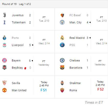 "Barstool's Champions League Preview – The ""KNOCKOUTS"