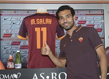 Mo Salah 2.0 as a baby