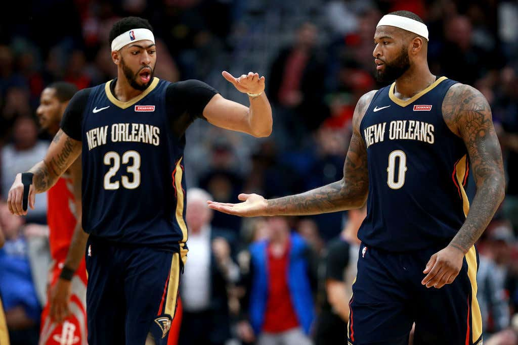 We Are Quickly Approaching Tin Foil Hat Time With Anthony Davis ... 8ea5d8592
