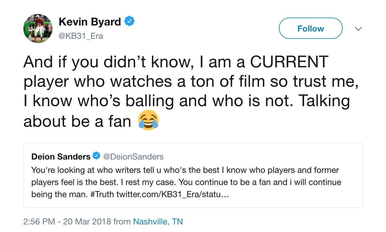 Deion Sanders Called Out Kevin Byard For Not Knowing Football ... 8d0fe26f0