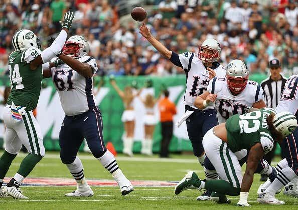 New England Patriots V York Jets
