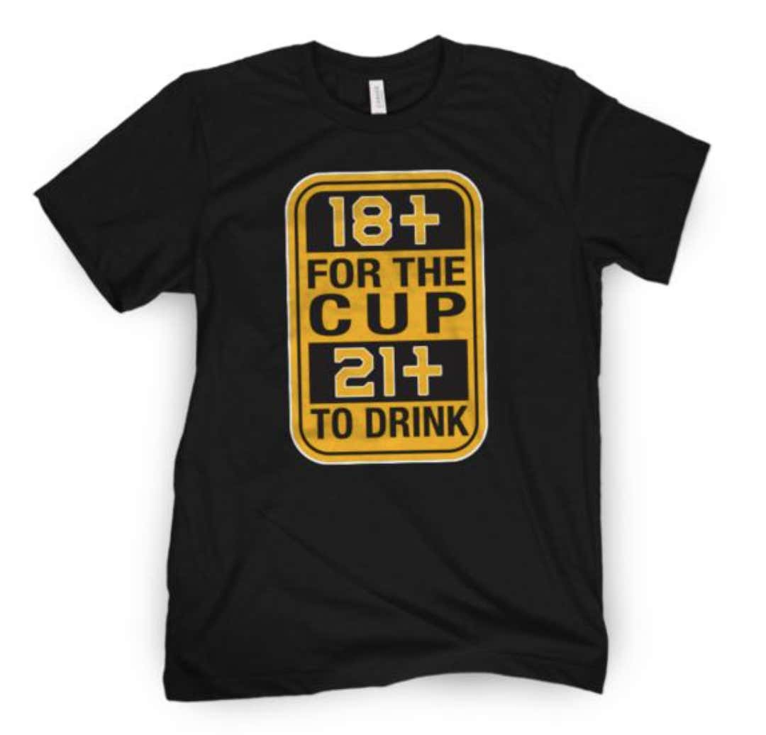c1468db0c51 The Boston Bruins Are In First Place And Playoff Shirts Are Now On ...