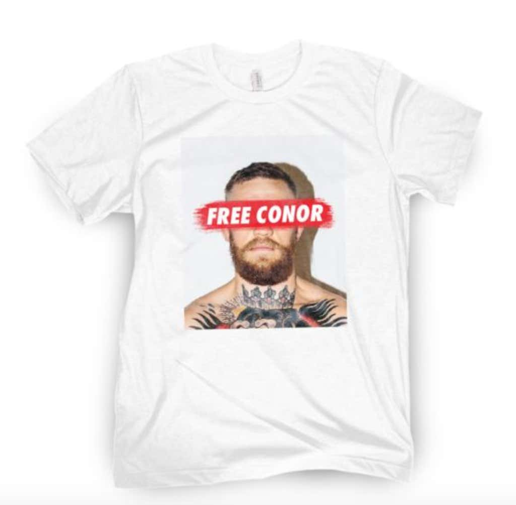 f5a11c028c2 FREE CONOR SHIRTS AVAILABLE NOW - Barstool Sports