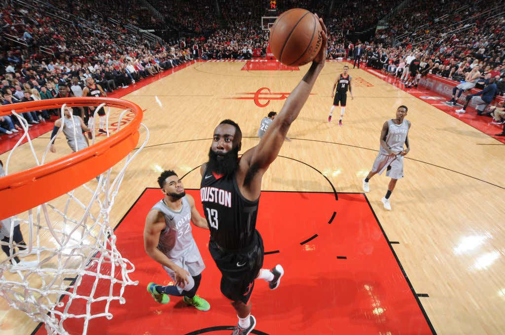 9106d0a33360 James Harden Sure Looked Like The MVP As He Closed Out The ...