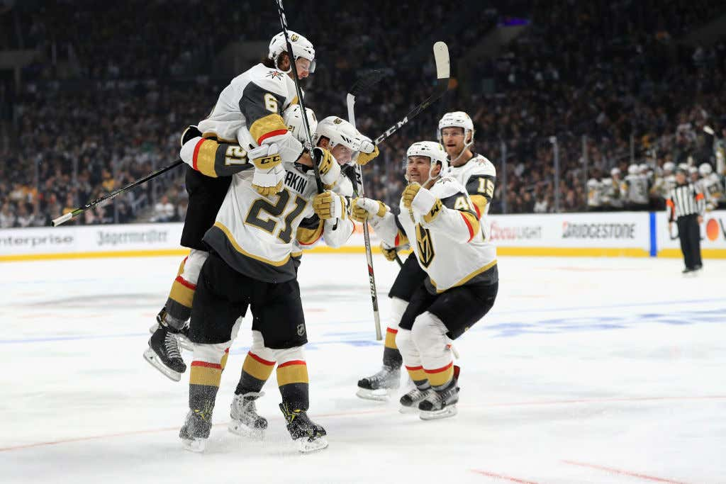 I Am Going To Vomit If The Vegas Golden Knights Sweep Their First Ever  Playoff Series 1c4e73b77